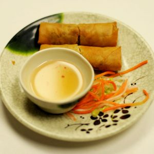Fried Spring Rolls (Minced Pork, Carrots, Taro Root, Onions)