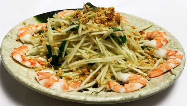 Green Papaya Salad with Shrimp