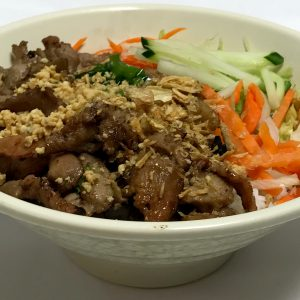 Bun Thit Nuong (Vietnamese Grilled Pork & Rice Noodles)