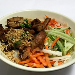 Bun Ga Nuong, Grilled Chicken and Vermicelli Salad