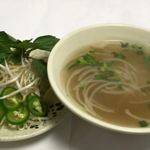 Pho Plain (Cilantro, Onion, Scallion)