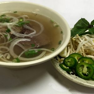 Pho Tai Gau (Eye-Round Steak & Brisket)