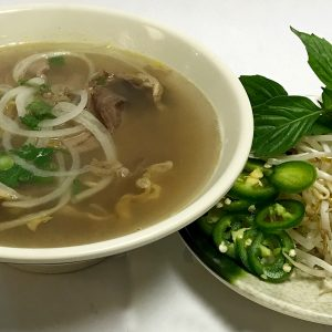 Pho Tai Nam (Eye-Round Steak & Flank Beef)