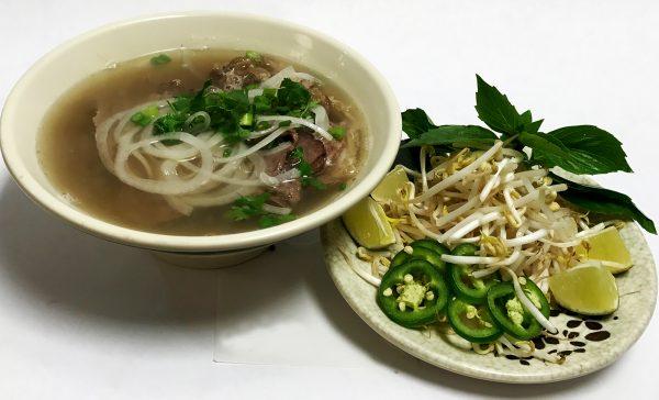 Pho Tai Nam Gau (Eye-Round Steak, Flank, & Brisket Beef)