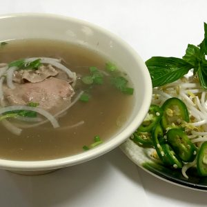 Pho Tai Nam Gan (Eye-Round Steak, Flank & Tendon)