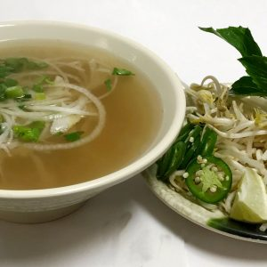Pho Tai Sach (Eye-Round Steak & Tripe)