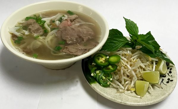 Pho Dac Biet (Eye-Round Steak, Flank, Brisket, Tendon, Tripe & Beef Meatballs)