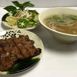 Pho Ny (Vietnamese Grilled Marinated Pork Chops)