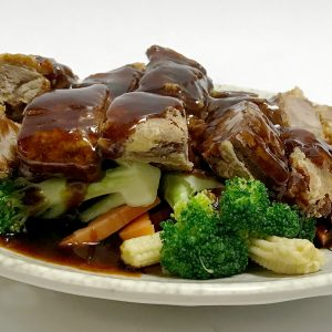 Crispy Duck with Vegetables