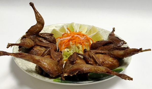 Fried Dinner Quails
